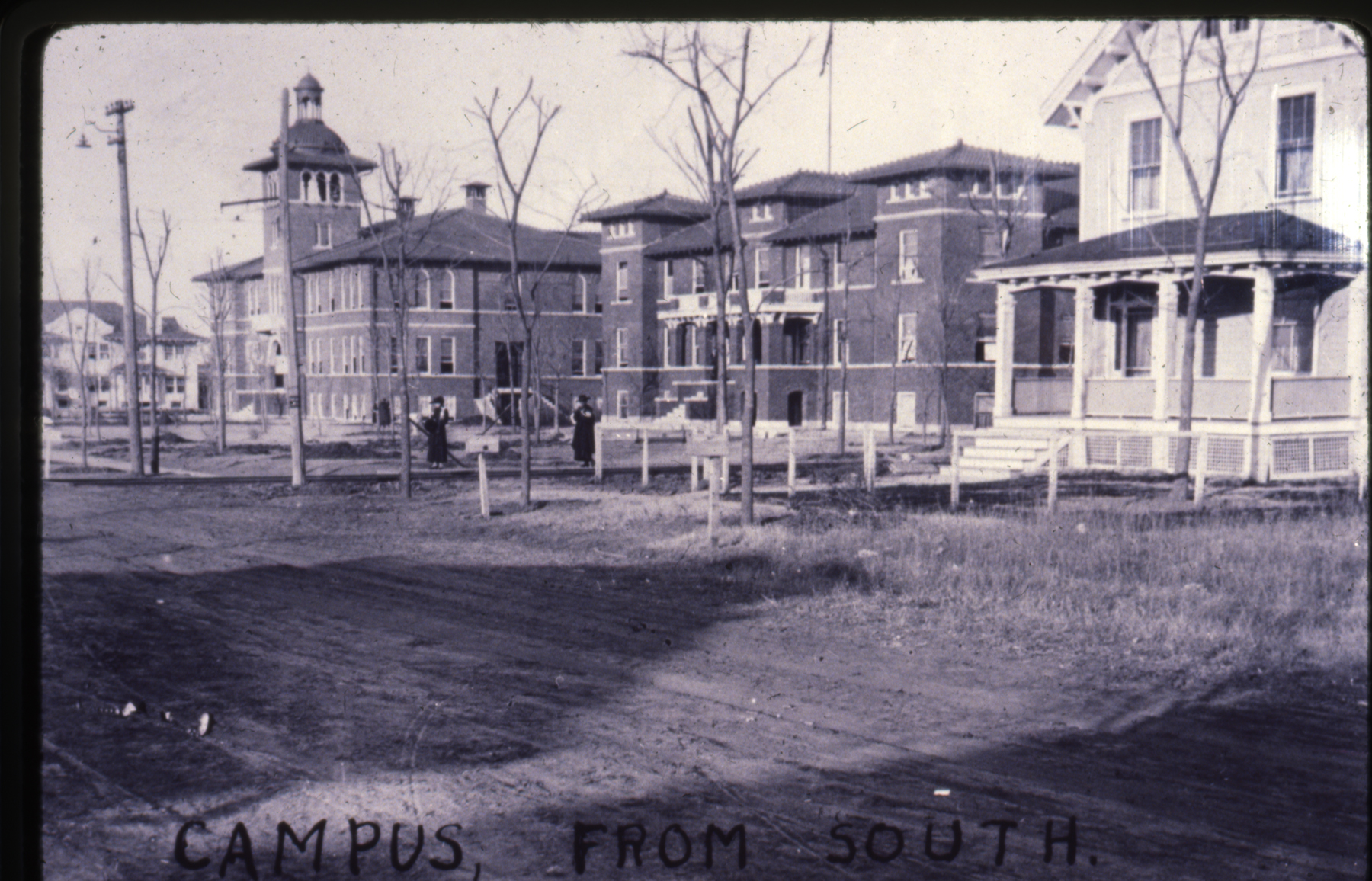 Kendall College Campus looking north, approximately 1915